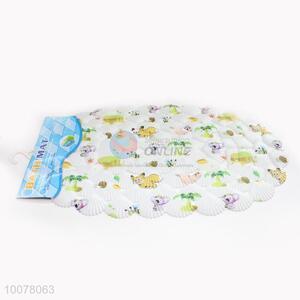 Cartoon foot massage shell shaped bath mat