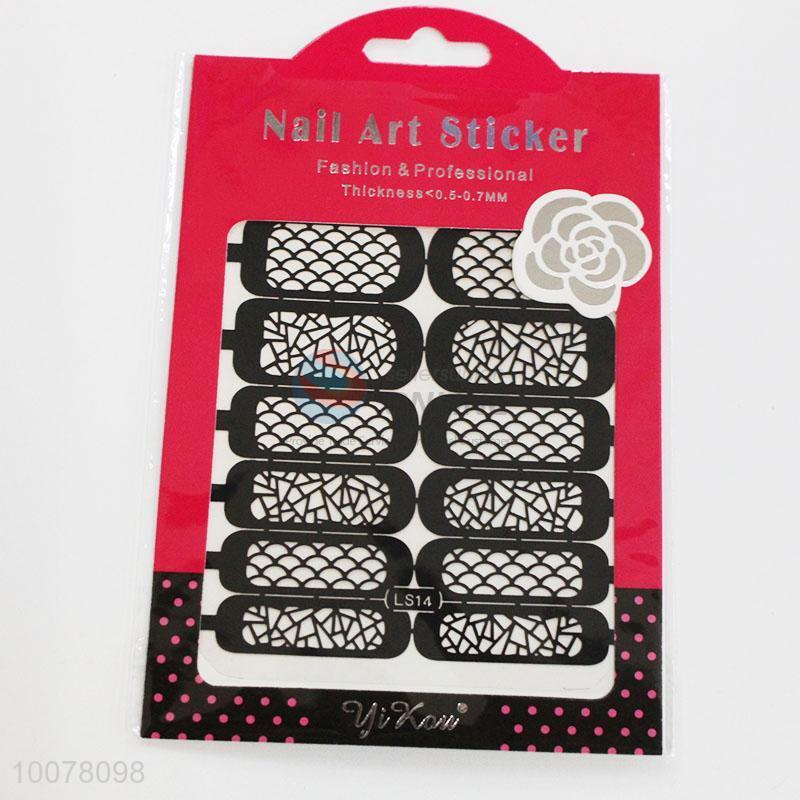 Elegant hollow nail art stickers - Sellersunion Online