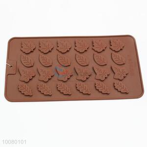 Leaf shape silicone chocolate cookie moulds