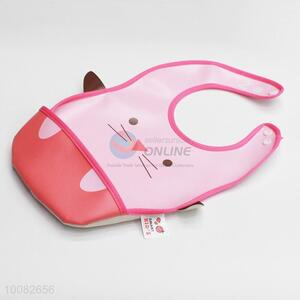 Cute cat shaped baby bibs/feeding bibs