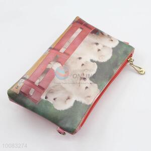 Hot sale clutch bag mini coin with zipper