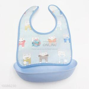 Low Price Customized Detachable Cute Design Soft Silicone Baby Bib