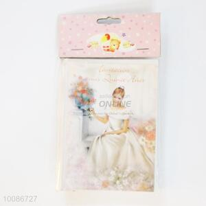 6 Pieces/Set Beauty Girl Wishes Cards for Birthday