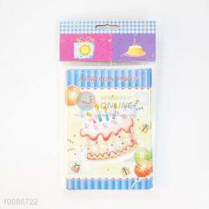 6 Pieces/Set Sweet Cake Birthday Cards