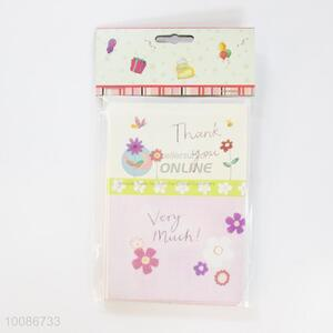 6 Pieces/Set Cute Flower Birthday Cards