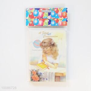 6 Pieces/Set Cute Girl Birthday Cards for Wishes