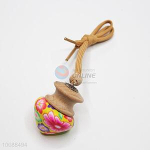 Fashionable sandal wood car hanging pendant