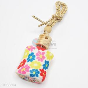 Cheap flower bottle perfume for car