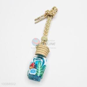 Top quality car perfume bottle/hanging pendant