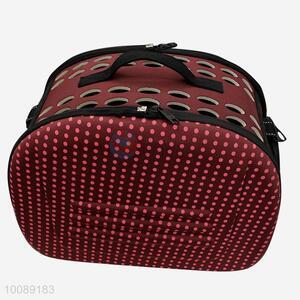 Red Dot Single Shoulder Handbag