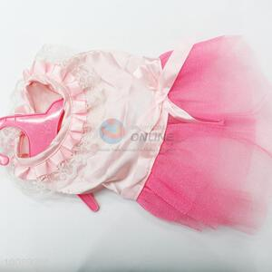 Pink Dog Dresses Wedding Princess Dress For Dogs