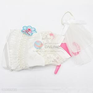 Puppy Wedding Party Skirt Clothes Princess Dress