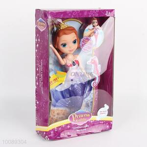 Hot Sale Girls' Gift Toy Mermaid Doll with Colourful Lights