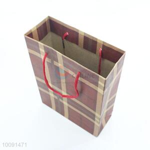 Retro design brown paper bag for gift packing