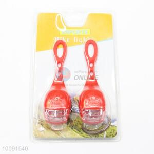 2 Pieces in 1 Set Fashional Red LED Bicycle Light