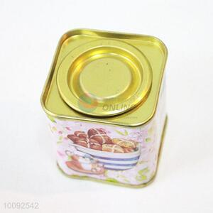 China tin tea caddy for wholesale