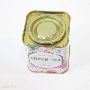 Recyclable feature customized designed china factory directl tin tea caddy