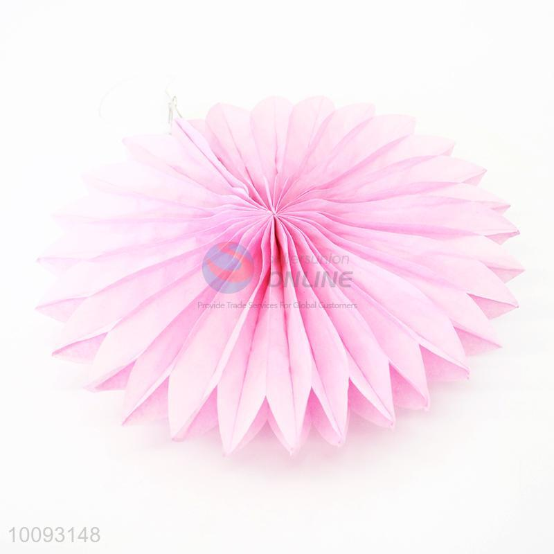 Hot Selling 8 Inch Paper Flower Fans For Wedding Decoration