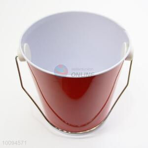 6 Colors mini tinplate bucket/garden bucket