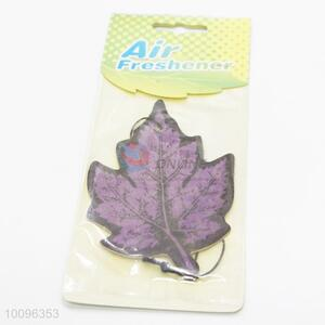Purple leaf air freshener/car freshener/car fragrance