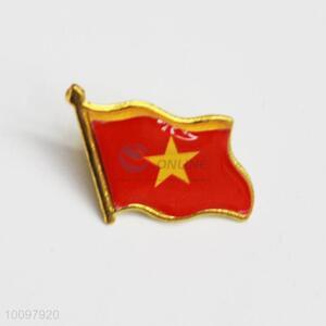 Vietnam Flag Metal Pin Badge