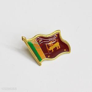 Sri Lanka Flag Metal Pin Badge