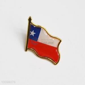 Chile Flag Metal Pin Badge