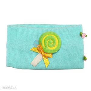 Popular children knitted head wrap with curling