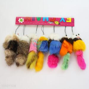 Best Price Wool-like Fur Key Mobile Phone Accessory For Sale