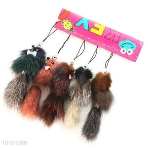 New Products Wool-like Fur Key Mobile Phone Accessory wholesale