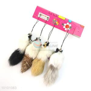 Low Price Wholesale Wool-like Fur Mobile Phone Accessory