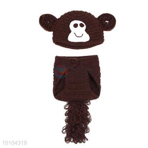 Cute Monkey Shape Baby Photography Costumes Props