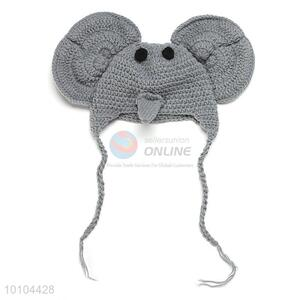 Cute Animal Style Baby Knitted Hat Photograph Props