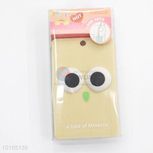 Sightly black eyes card sleeve with key chain