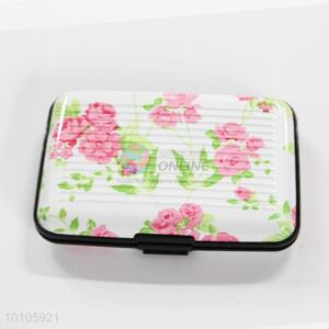 Beautiful Flower Design Card Bag