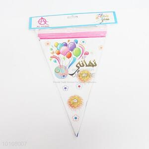 Colorful Bubbles Pattern Eco-friendly Party Pennant