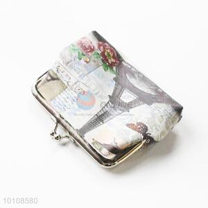 Tower PVC Coin Purse/Coin Holder for Women