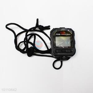 Wholesale black portable mini digit stopwatch