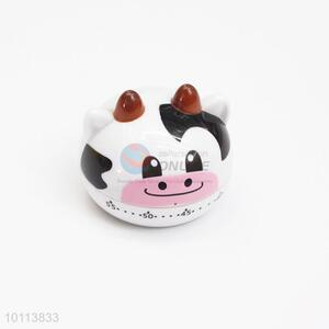 Cute Cow Shape Kitchen Egg Cooking Timer Alarm 60 Minutes