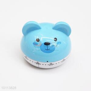 Blue Cute Bear Kitchen Timer Mechanical