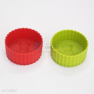 Round Shaped Silicone Cake Mould for Home Use