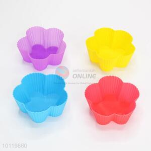 Pretty Cute Flowers Shaped Silicone Cake Mould