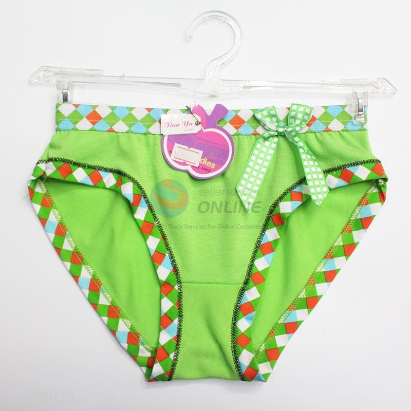 b9fdce3de668 Green comfortable soft underwear for girl - Sellersunion Online