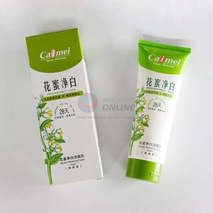 Natural nectar whitening facial foam