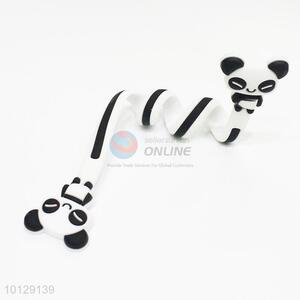 Lovely Panda Shape Long Cable Winder Headphone Earphone Organizer Wire Holder