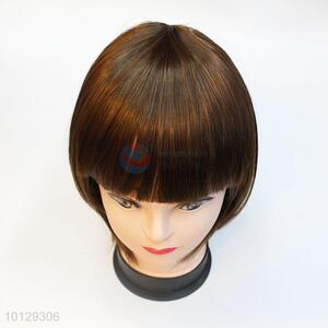 Fashion Short Straight Wig Cosplay Party Wig For Women