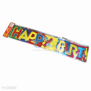 Decorative Party Favors Birthday Foil Banner