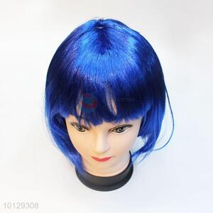 Fashion Party Wigs Blue Short Hair Wig