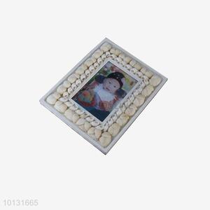 Funny white shell <em>photo</em> frames for sale