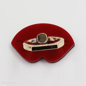 Red Mouth Shaped Phone Holder/Ring Holder